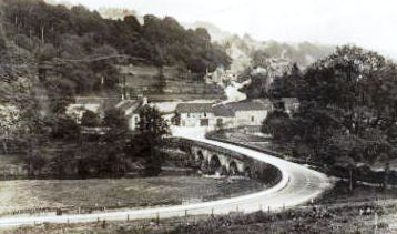 Bridge and Derwent Hotel at Whatstandwell