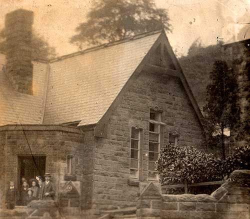 Photograph of Crich Carr School 1913