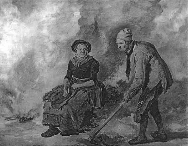 Painting of Luke and Betty Kenny