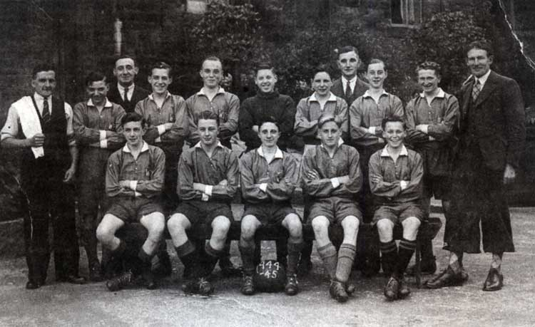 Photograph Whatstandwell Rovers 1944-45