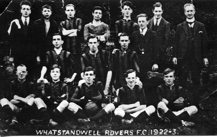 Photograph of Whatstandwell Rovers 1922-23